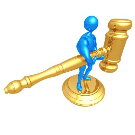 metonymy: Big Gavel
