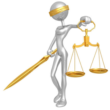 iconography: Lady Justice