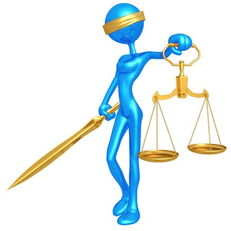 blindfold: Lady Justice