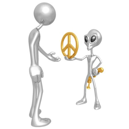 come in: We Come In Peace
