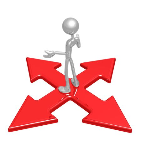 x marks the spot: At The Crossroads