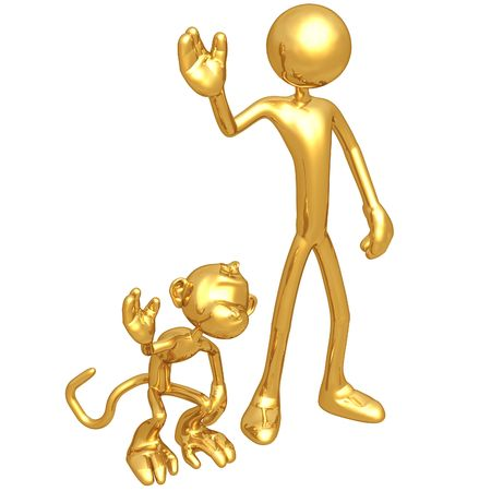 jealousy: Monkey See Monkey Do