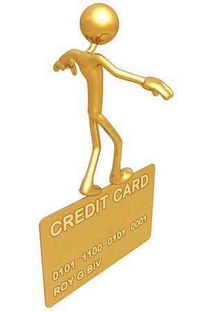 balancing: Balancing On Gold Credit Card