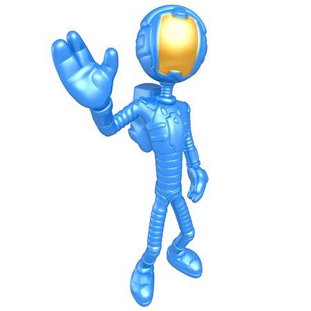 eva: Astronaut Waving