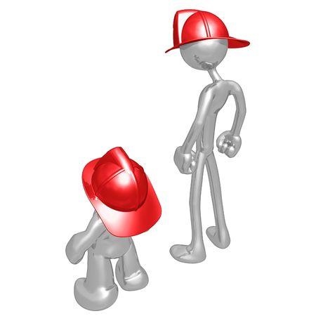 jealousy: Original and Copycat Firefighter