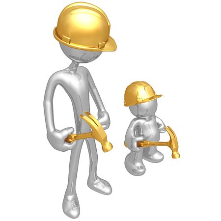envy: Original and Copycat Construction Worker