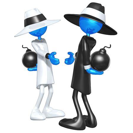 mistrust: Spy Games Handshake