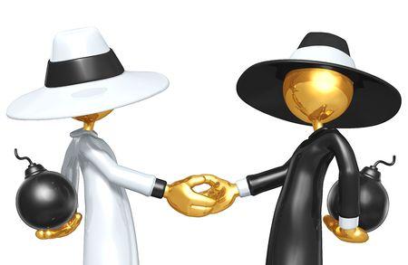 Spy Games Handshake photo