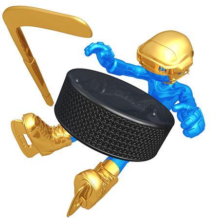 Ice Hockey Stock Photo - 4750913