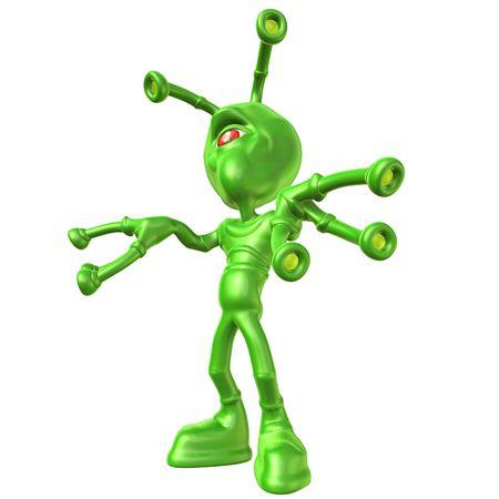 e u: Alien Stock Photo