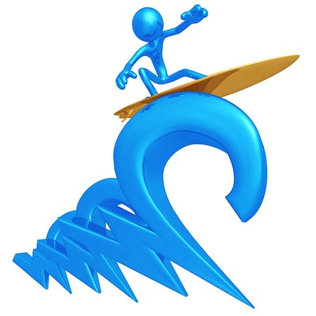 WWW Surfing Stock Photo