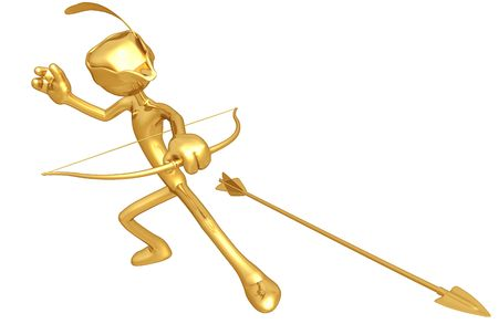 legends folklore: Arrow Stock Photo