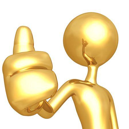 Thumbs Up Stock Photo - 4754598