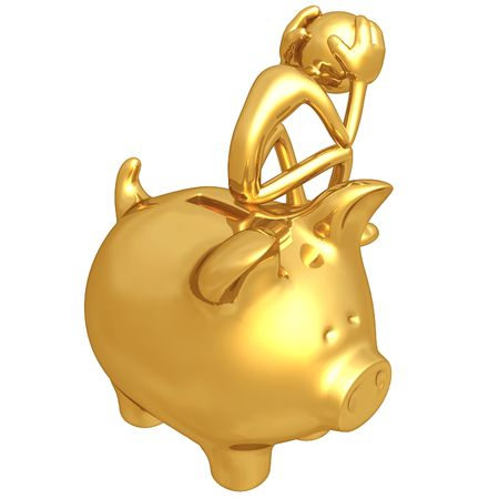 Financial Problem Stock Photo