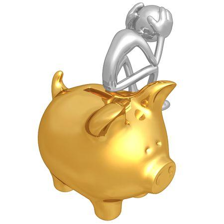 Problema financiero Foto de archivo - 4754557