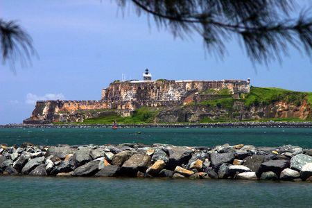 isla: El Morro Castle, San Juan Puerto Rico Stock Photo