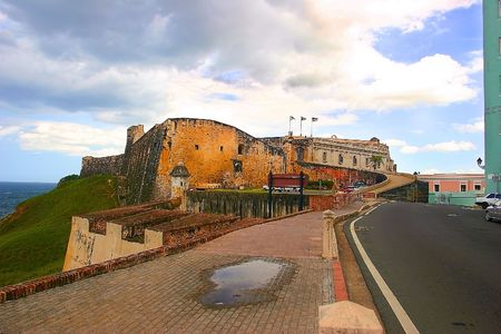 juan: Castillo San Cristobal, San Juan Puerto Rico Stock Photo