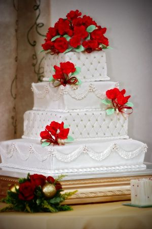 wedding cake Stock Photo - 6631621