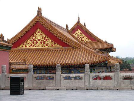 Scene in Forbidden city, Beijing, city of emperors Stock Photo