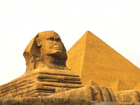 Egypts replica in a theme park in Shengzheng, China