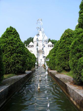 Taj Mahals replica in a theme park in Shengzheng, China
