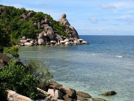 View at the beach, Ko Thao Island, Thailand