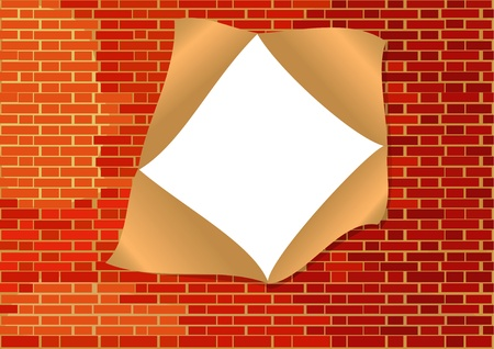 pared rota: Rompió el muro de piedra