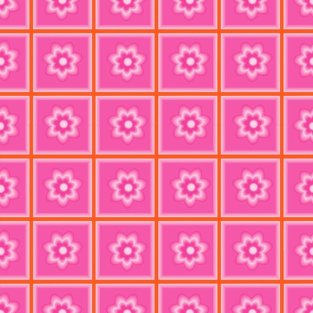 beautify: Seamless pattern abstract flowers  Illustration