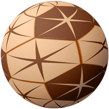 character traits: Sphere, ball, glob, EPS10 - vector graphics