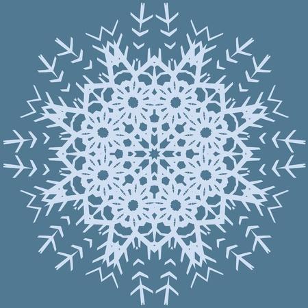 Circle floral ornament,  graphics   Vector