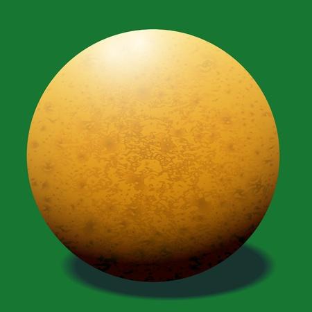ivories: Ivory billiard ball