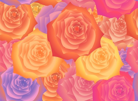 abloom: Antecedentes de las flores de las rosas, sin patr�n