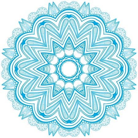 Circle floral ornament, EPS8 - vector graphics  Vector