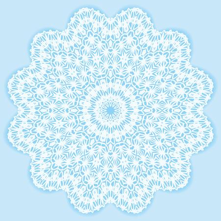 Circle floral ornament, EPS8 - vector graphics. Vector