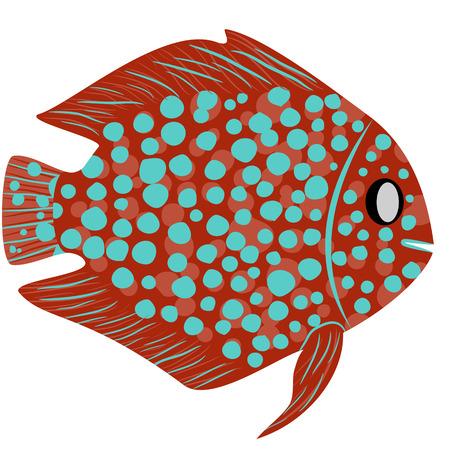 health resort: Abstract fish, EPS8 - vector graphics.