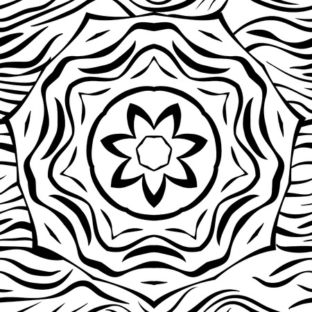 graceful: Graceful seamless lattice gothic style, EPS8 - vector graphics. Illustration