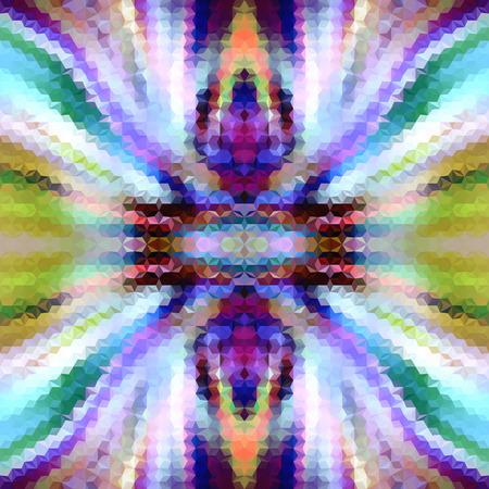 extravagant: Abstract extravagant mosaic seamless pattern