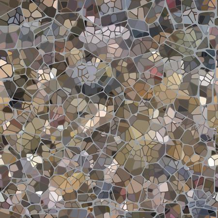 rubble: Muro de piedra de fondo sin fisuras, gr�ficos vectoriales. Vectores