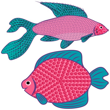 exotic fish: Fantastic pesci esotici