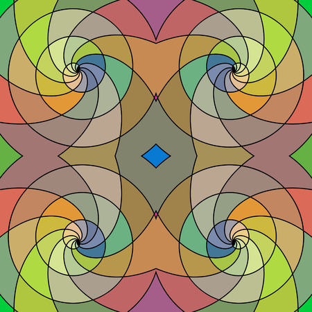eps8: Imitation stained-glass style abstract seamless background, EPS8 - vector graphics. Illustration