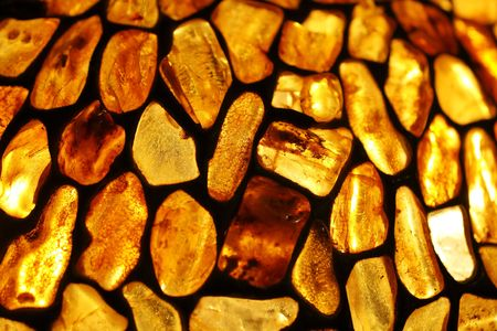 amber background Stock Photo