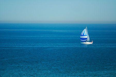 blue landscape Baltic Sea wallpaper postcart water
