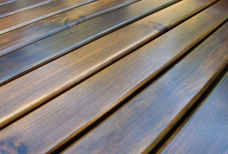 Background texture using wood material brown Stock Photo