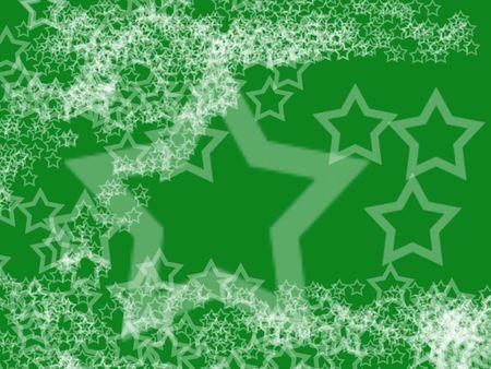 backgrund: christmas digital white stars on green backgrund