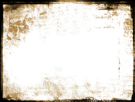 patched: Frame with patched texture and sepia undertone