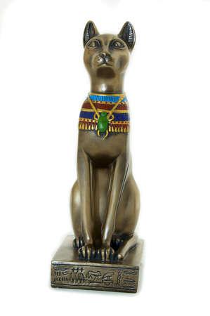 egyptain chat  Banque d'images