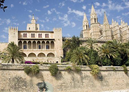 Cath�drale de Palma et de fortifications, de Palma, Majorque