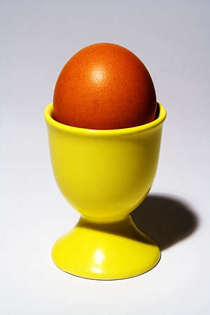 eggcup: Egg in egg-cup