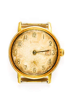 Old mechanical watch photo