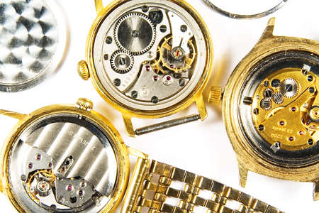 timescale: Old mechanical watchs